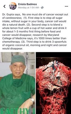 I'm a skeptic about this cancer treatment but it certainly is interesting. Health Heal, Health And Wellness, Health Care, Health And Beauty, Health Fitness, Natural Cures, Natural Healing, Get Healthy, Healthy Tips