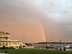 They say that you see a rainbow everyday in Ireland, I believe we have the most beautiful rainbows on Mackinac Island.