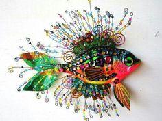 Seahorses and fish from John Vidakovic