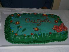 Torta decorata con pasta di zucchero e ghiaccia - primi esperimenti - tutto fai da te