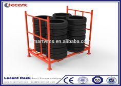 Top Quality New Design Heavy Duty Bulk Storage Bus Tire Racks For Logistics Center
