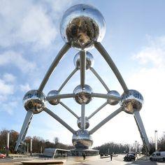 The Atomium of Bruxelles