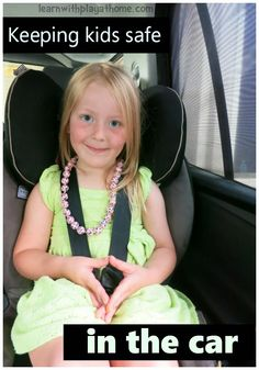 Keeping kids safe in the car. Advice for keeping kids safe in and around cars. Including ways and resources to help educate children about safety around cars.