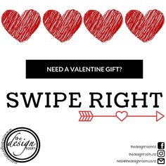 Valentine gifs sorted? SWIPE RIGHT for our range 😍🥰 . Website link in bio www.thedesignroom.co.nz * * * * * * * * * * * * * * *…