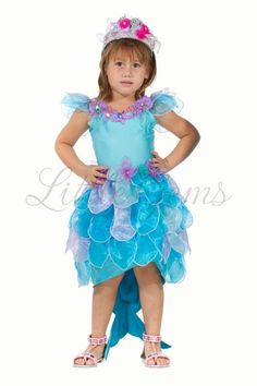 Lycra bodice one piece mermaid with organza leaf skirt & tail and shell detail. Little Mermaid Dresses, Little Mermaid Costumes, Leo Birthday, Mermaid Theme Birthday, Fish Costume, Costume Dress, Leaf Skirt, Mermaid Halloween Costumes, Disney Princess Costumes