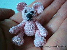 Ravelry: Tiny Crochet Bear pattern by Sharon Ojala