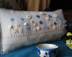 Dentro de mi almohada de puerta de jardín estilo por PillowCottage
