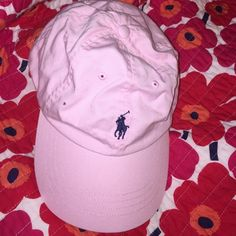416abfd7e82 Light Pink Ralph Lauren Cap Pink Polo cap with navy horse Ralph Lauren  Accessories Hats Ralph