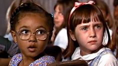 Lavender (Kiami Davael) and Matilda (Mara Wilson) starred alongside each other in the 1996 film <i>Matilda</i>. Mara Wilson, Movies Showing, 20 Years, Tv Series, Cinema, Entertaining, Actors, Films, Get Well Soon