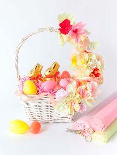 15 preciosas cestas para Pascua