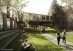 Diakonisse. The Education Passage   Image: jaja architects, via ja-ja.dk