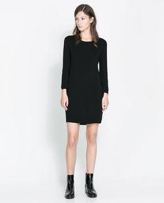 ZARA - WOMAN - ZIP-BACK DRESS