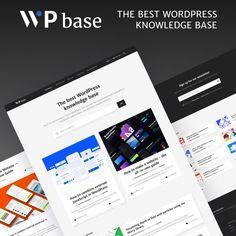 WPbase - WordPress Tutorial Theme WordPress Theme Create Online Store, Theme Template, Website Themes, Wordpress Template, Free Blog, Best Wordpress Themes, Earn Money Online, How To Make Money, Top