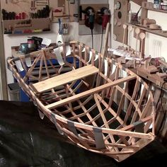 Picture of A boat from a single 2x4