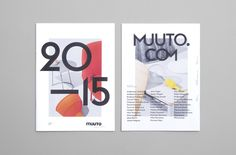Designbolaget is a Copenhagen based graphic design studio working at the intersections of art, fashion and culture. They worked on the Art Direction / Graphic Design of main catalogue and visual concept for the campaign images of Muuto.