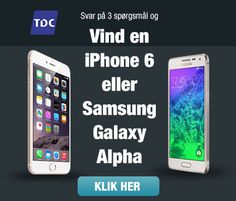 konkurrence: vind en iPhone 6