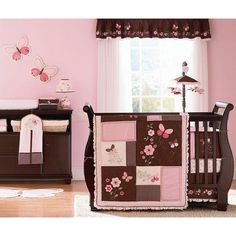 Check out the Carter's Butterfly Flowers Four Piece Crib Bedding Set from BabyAge.com!