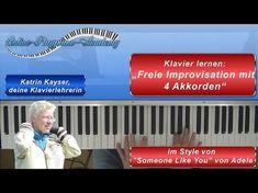 Klavier lernen: mit 4 Akkorden wie in