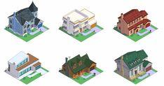 HomeAdvisor 網站將美國最著名家庭的房子以各種建築風格詮釋了一遍,幫助人們很容易地記住這些風格的特徵 …