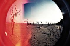 Spiaggia Lomography