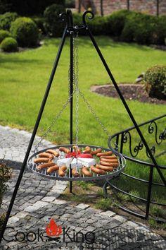 dreibein grillgestell schwenkgrill tripod grill stand ohne grillrost 170cm grillen im garten. Black Bedroom Furniture Sets. Home Design Ideas