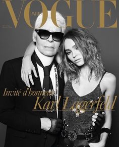 Get on the cover of VOGUE magazine with Karl Lagerfield