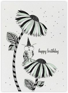 Owl Birthday (Carrie Gifford) - Paperless Post