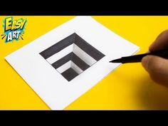 Tile Crafts, Latest Music Videos, Simple Art, Op Art, Art Tips, My Drawings, Amazing Art, 3 D, Doodles