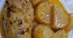 Λεμονάτο κοτόπουλο!!!Ένα απλό κοτόπουλο μπορεί να γίνει πεντανόστιμο με αυτό το λάδολεμονο!!! 3 κ σούπας γιαούρτι στραγγιστο 2 κ σούπας... Chicken Wings, Meat, Dinner, Cakes, Food, Kitchens, Dining, Cake Makers, Food Dinners