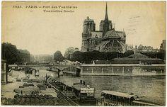 PARIS - Tournelles Docks, 1916