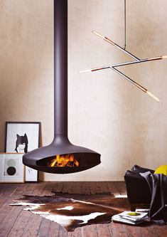 Oblica Melbourne French, A true groundbreaker from its inception in 1968, GyroFocus marks a revolution in fire. It is the world's first suspended fireplace on Earth, making a huge