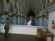Vista de cima catedral de franca.