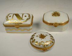 Porcelain Dresser Box Set