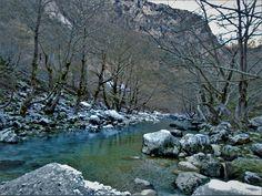 Στη βαθύτερη χαράδρα του κόσμου! Greece, Rivers, Lakes, Nature, Travel, Outdoor, Greece Country, Outdoors, Naturaleza