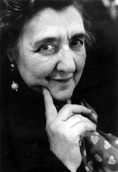 """Italian poet Alda Merini, 1996 -by Ferdinando Scianna """" La mia poesia è alacre come il fuoco, trascorre tra le mie dita come un rosario. Non prego perché sono un poeta della sventura che tace, a volte, le doglie di un parto dentro le ore, sono il..."""