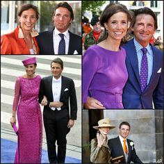 R4R Photo Spotlight:Dutch Royal Couples Maurits & Marilène, married in 1998 Maurits is the first son of Princess Margriet, sister of Princess Beatrix.
