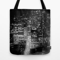 san francisco Tote Bag by Marianna Tankelevich - $22.00