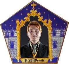HP Craftalong ~Fall Semester 2012~ Fred Weasley Chocolate Frog Card
