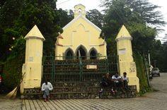 St. Paul's Church near Char Dukan, Landour. Mussoorie.