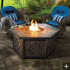 Outdoor Firepits ByFrontgate - Style Estate -
