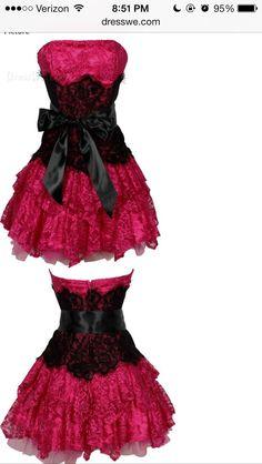 Pink sweet sixteen dress