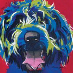 Wire Hair Griffons Pop Art Pet Dog Portraits