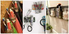 Bathroom Organization Ideas - DIY Bathroom Storage Ideas