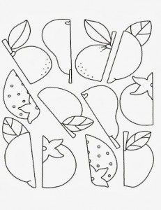 fruit worksheet
