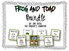 The Teachers' Cauldron: More Frog and Toad and a spelling freebie