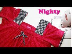 Latest nighty cutting and stitching - YouTube