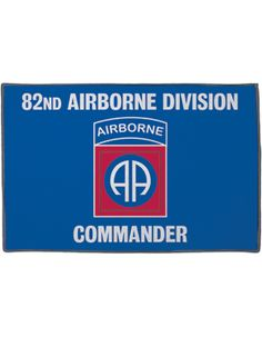 82nd Airborne Division Rug 5'X3'