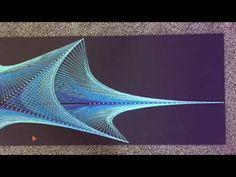 Tall Blue - String Art @IQ85k - YouTube