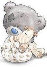 "Full Square Drill DIY Diamond Painting ""Cartoon Bear"" Embroidery Cross Stitch Mosaic Home Decor Gift XSH - Tatty Teddy . Tatty Teddy, Teddy Pictures, Cute Pictures, Bear Cartoon, Cute Cartoon, Lapin Art, Blue Nose Friends, Cute Teddy Bears, Baby Kind"