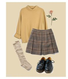 """I Should Be Doing My Homework, But, Alas"" by ronaldreagan69 ❤ liked on Polyvore featuring Club Monaco, Aerie and Dr. Martens"